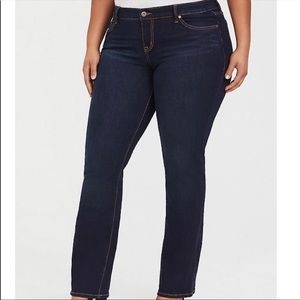 Torrid relaxed boot dark wash jeans